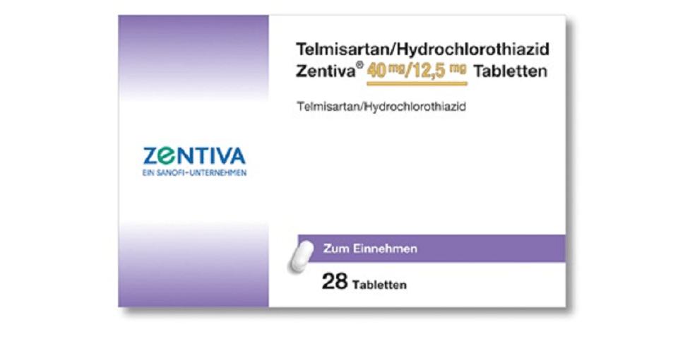 Ritirato Telmisartan Zentiva Sanofi, farmaco antipertensivo