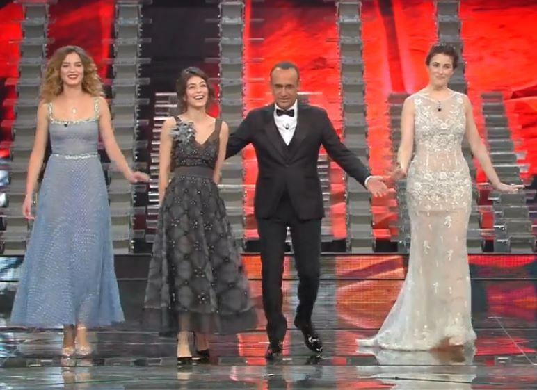 Alessandra Mastronardi Sanremo 2017 Giusy Buscemi Diana Del Bufalo