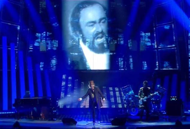 Zucchero Sanremo 2017 duetto Pavarotti