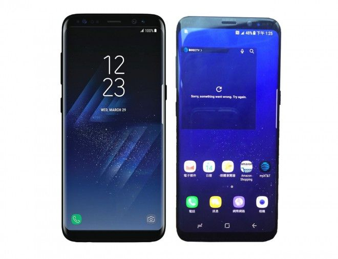 Samsung Galaxy S8 design finale