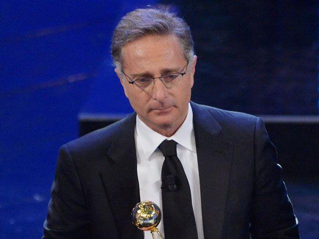 Paolo Bonolis Sanremo 2018 Pier Silvio Berlusconi