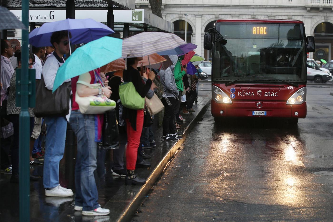 Roma, sciopero mezzi pubblici ATAC TPL