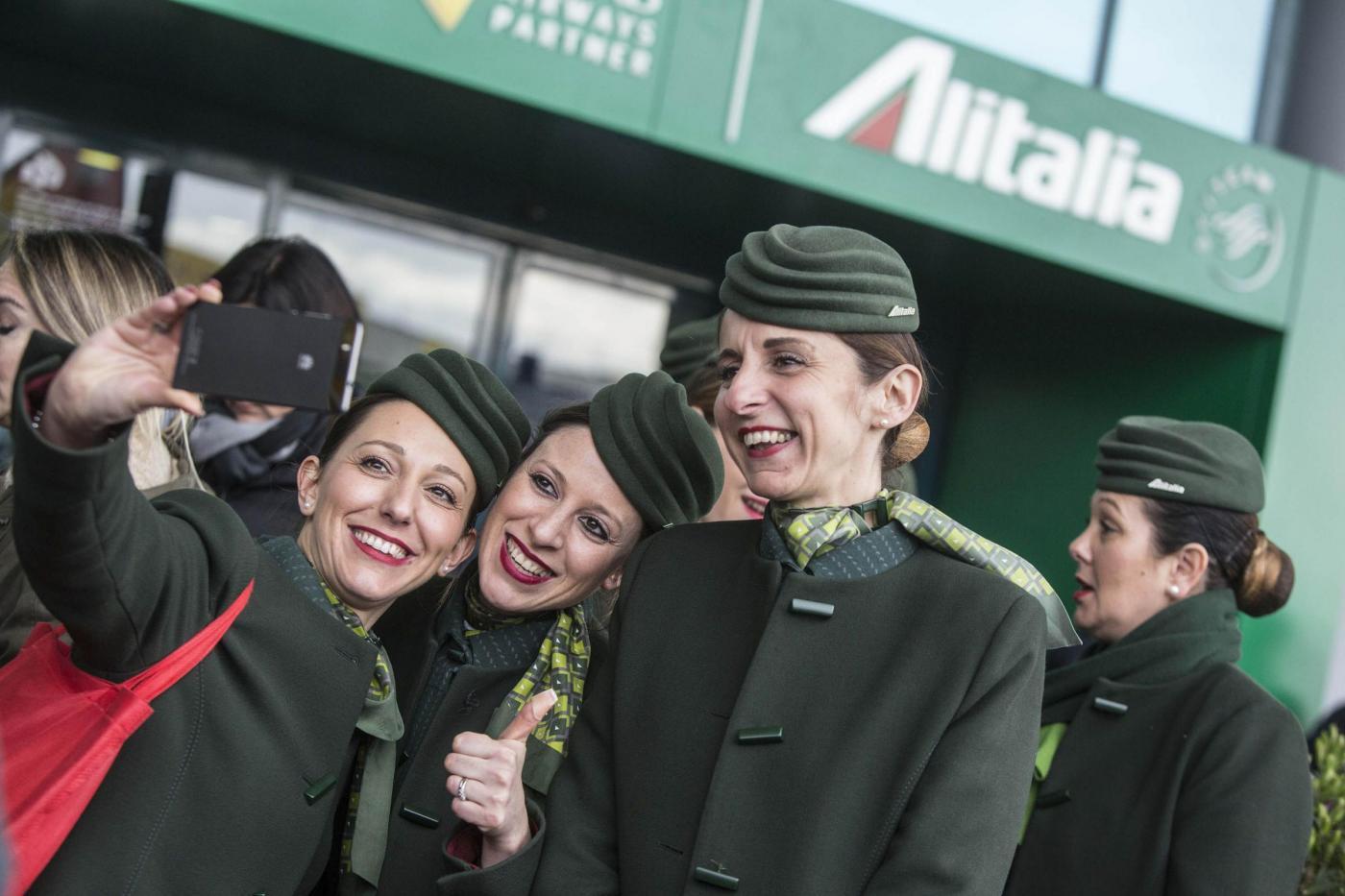 Aeroporto di Fiumicino, sciopero dei dipendenti Alitalia