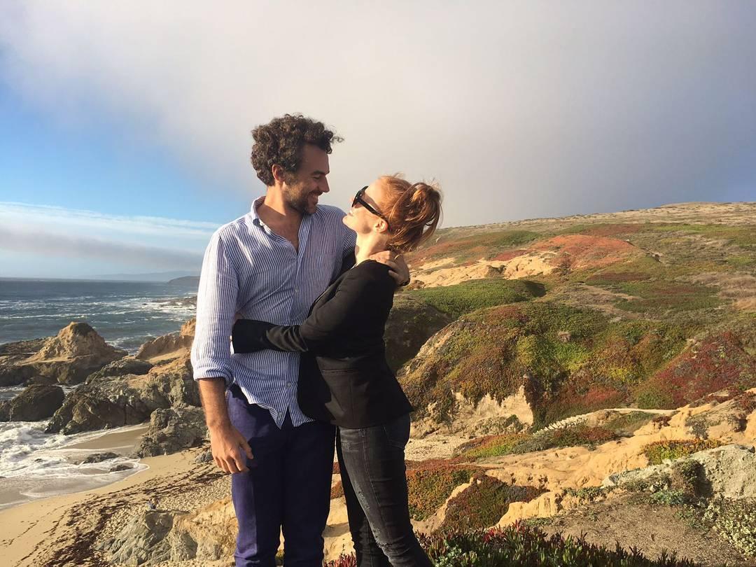 Jessica Chastain e Luca Passi