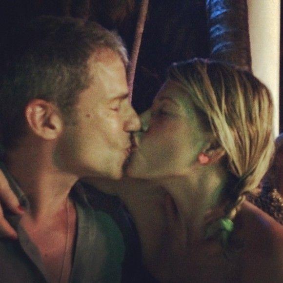 Marcuzzi e marito
