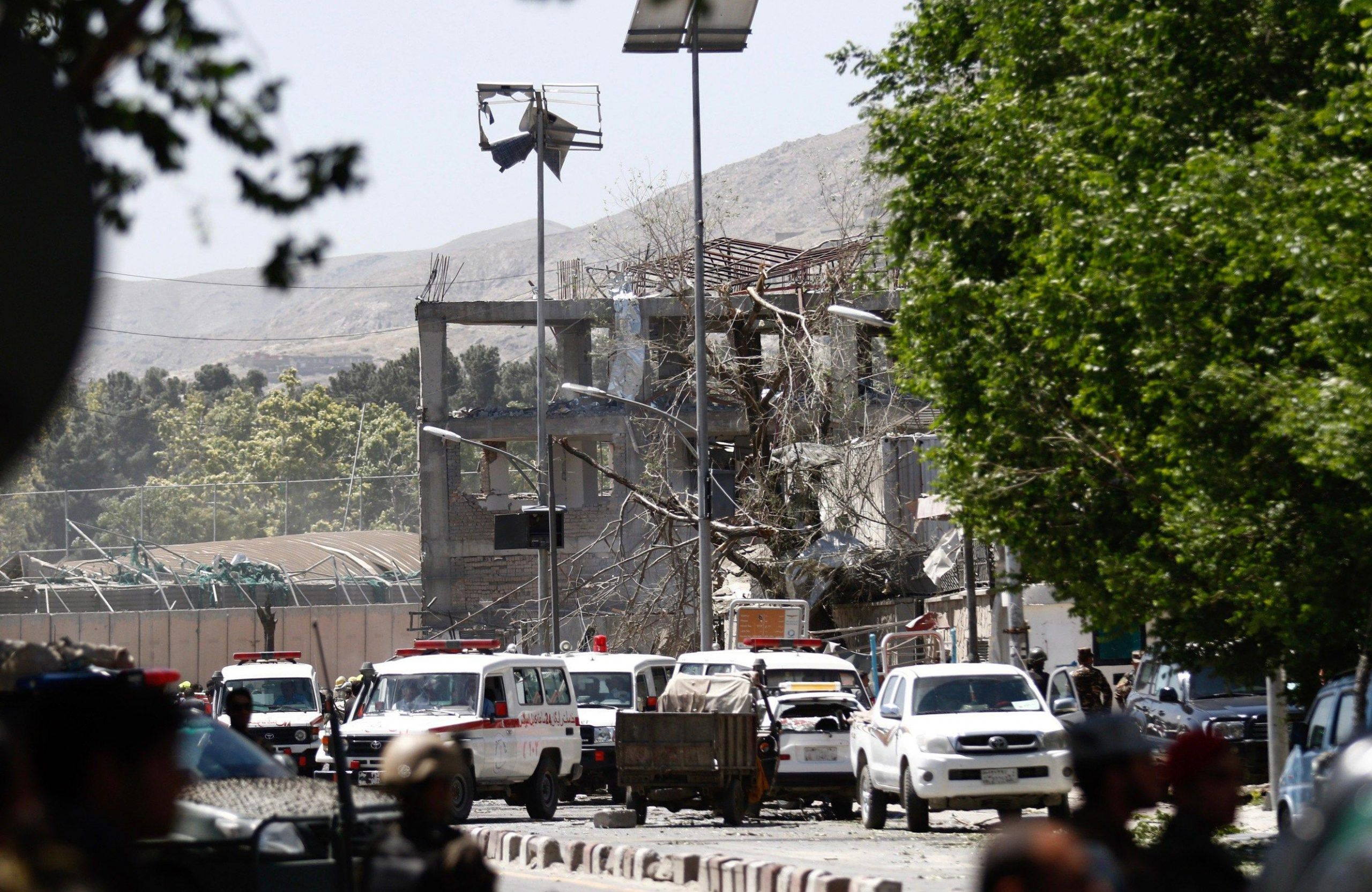 At least 50 casualties in suicide bomb attack in Kabul