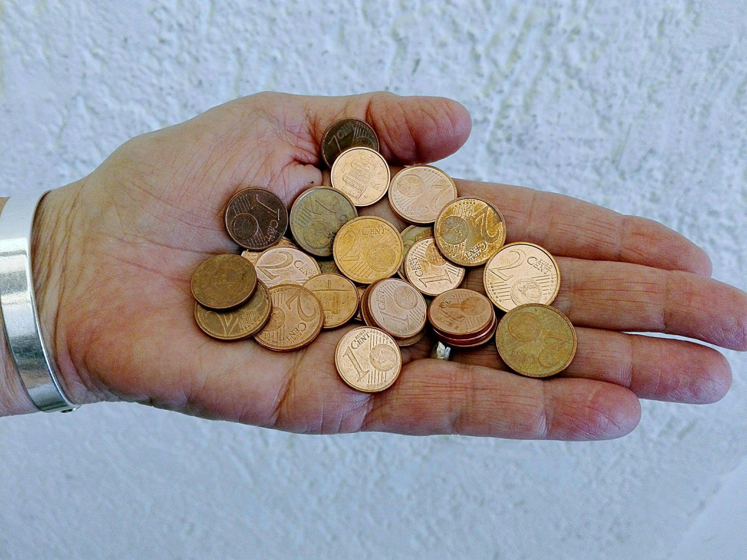 Manovra: Pd, da 2018 addio monete 1 2 centesimi