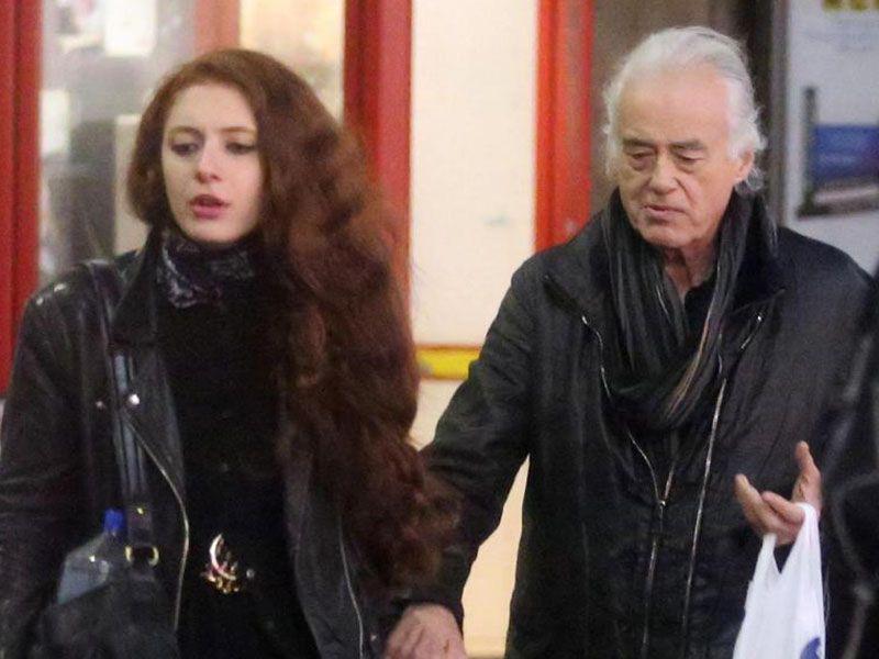 Jimmy Page fidanzata Scarlett Sabet
