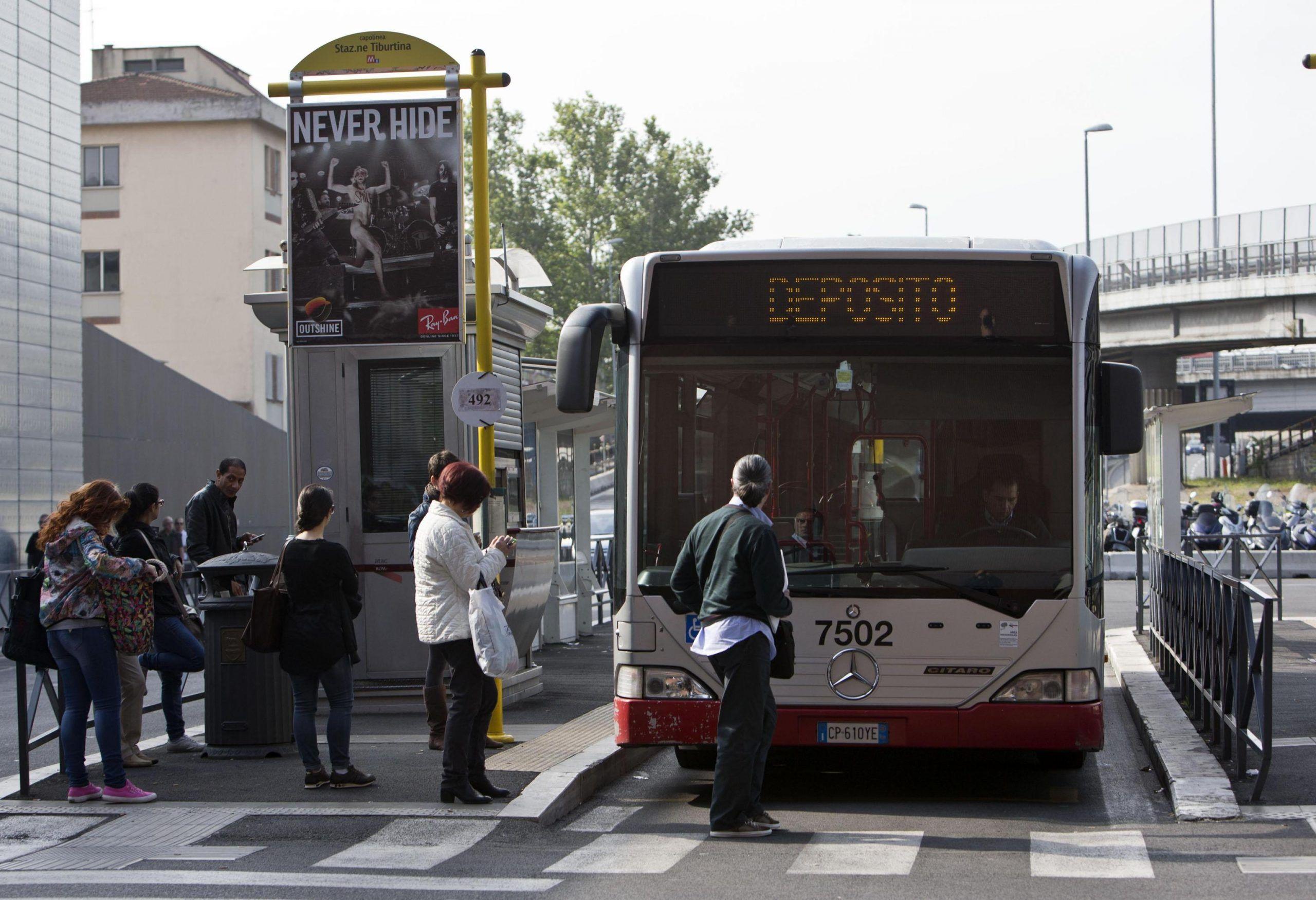 TRASPORTI ATAC ROMA SCIOPERO METRO BUS