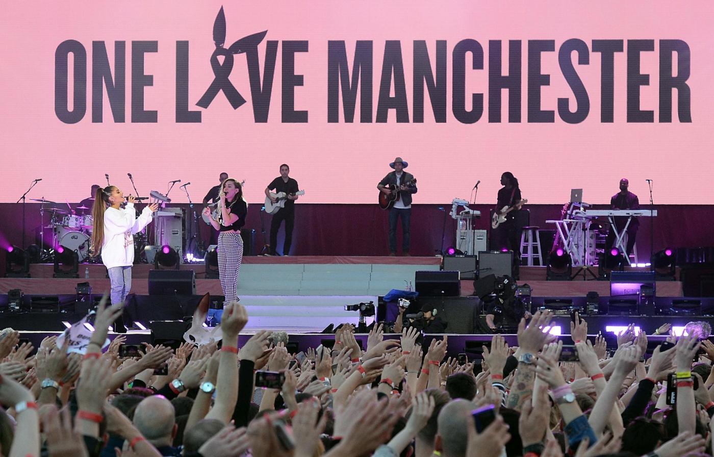 La musica unita contro il terrore, Ariana Grande & Co. per 'One Love Manchester'