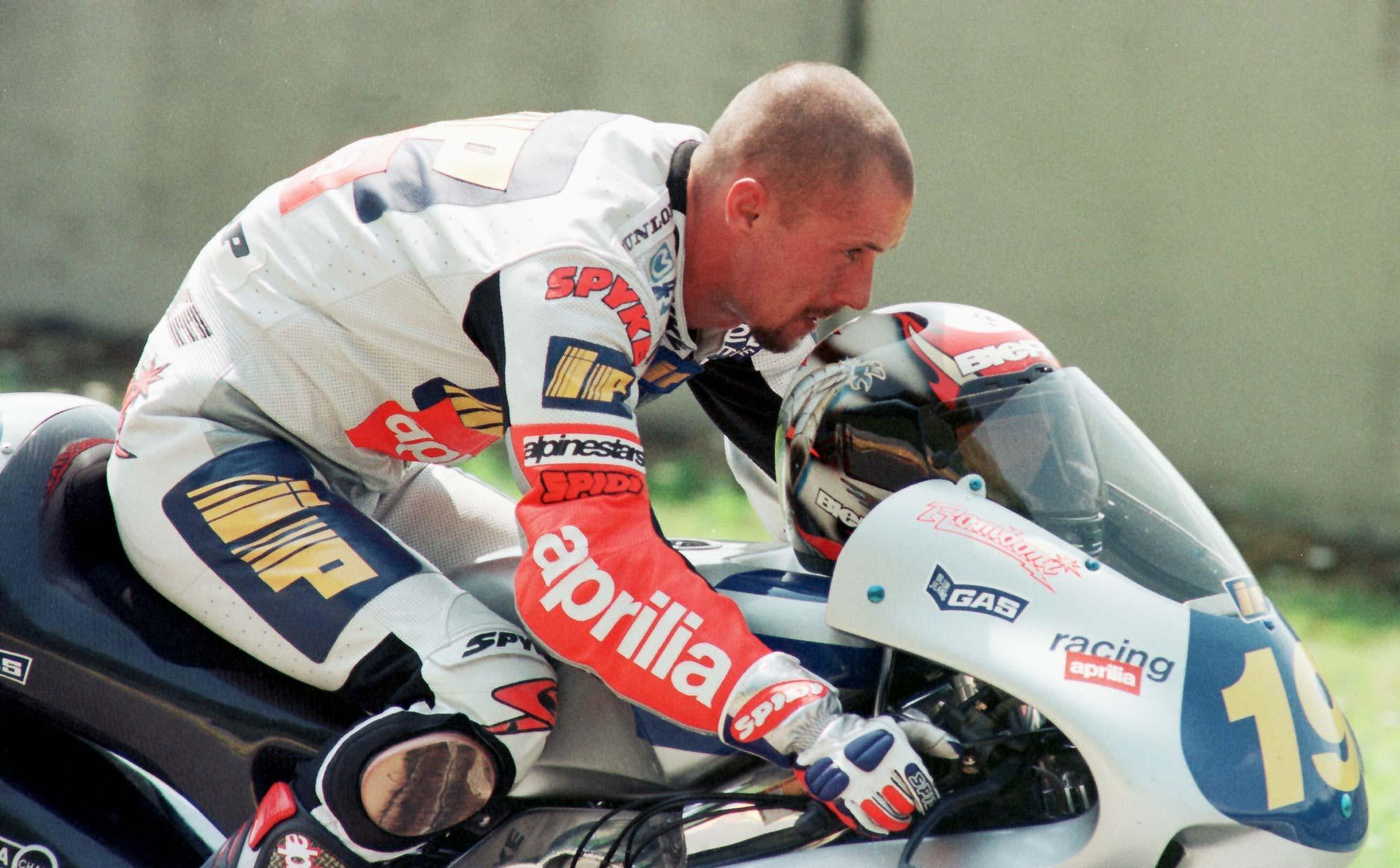 Moto: Doriano Romboni è morto