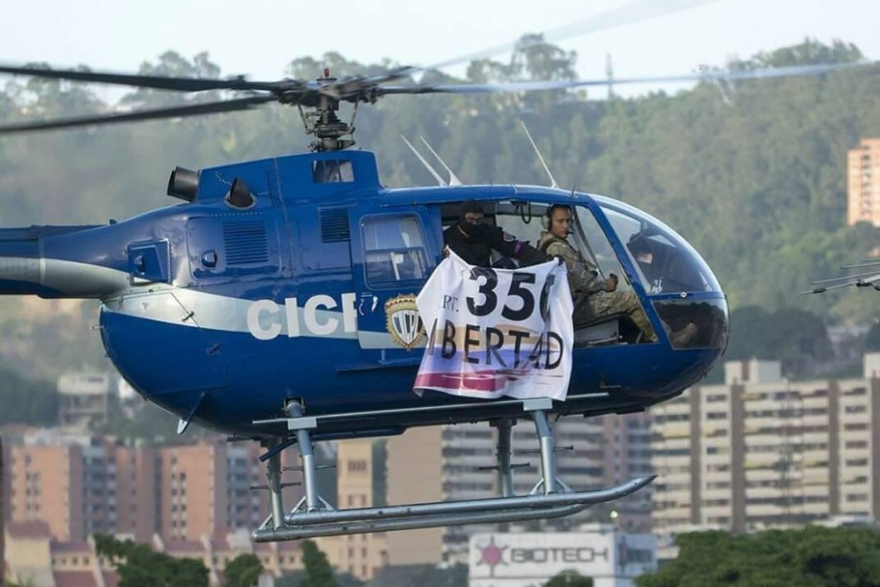 elicottero venezuela