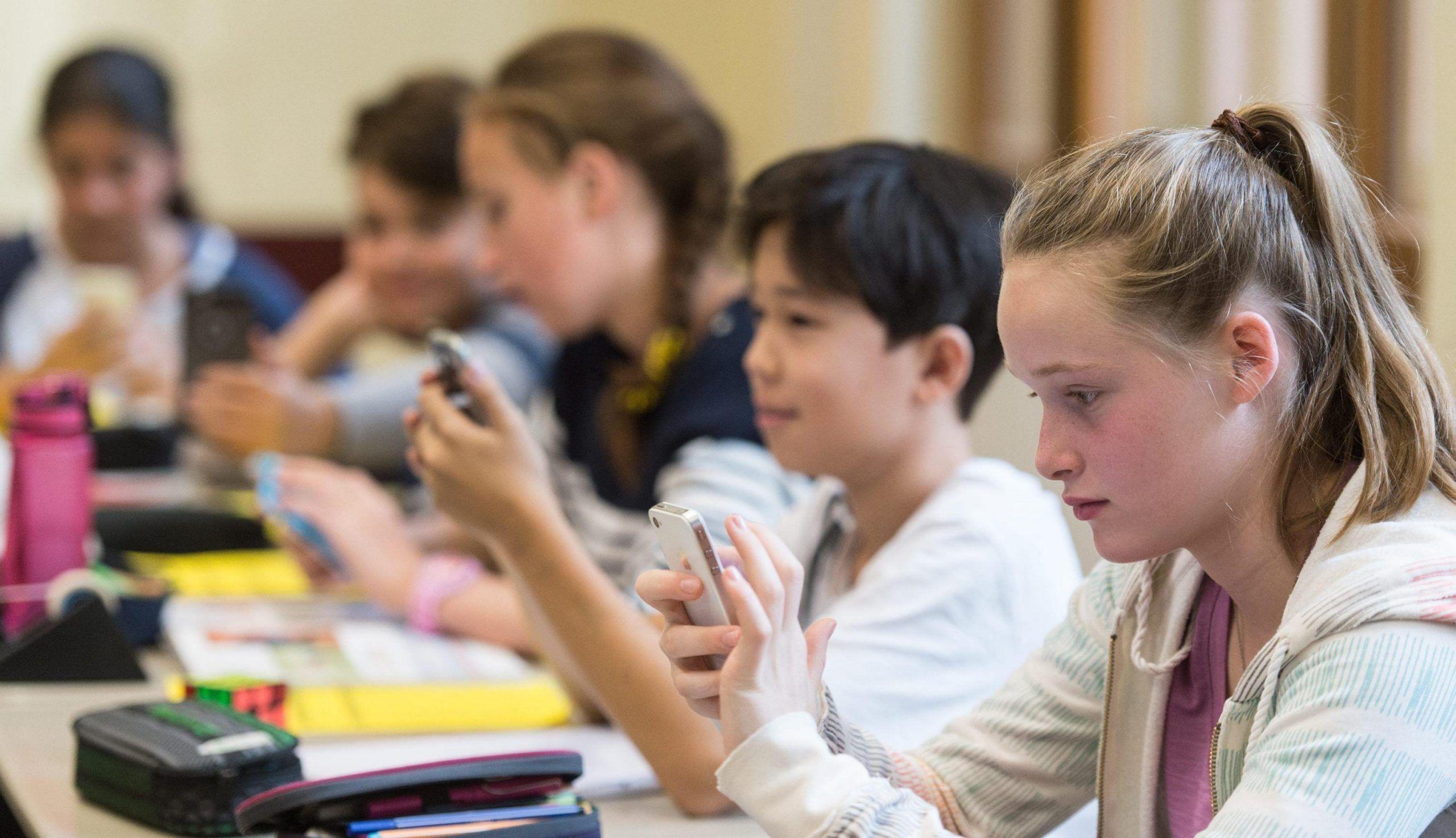 Telefono in classe