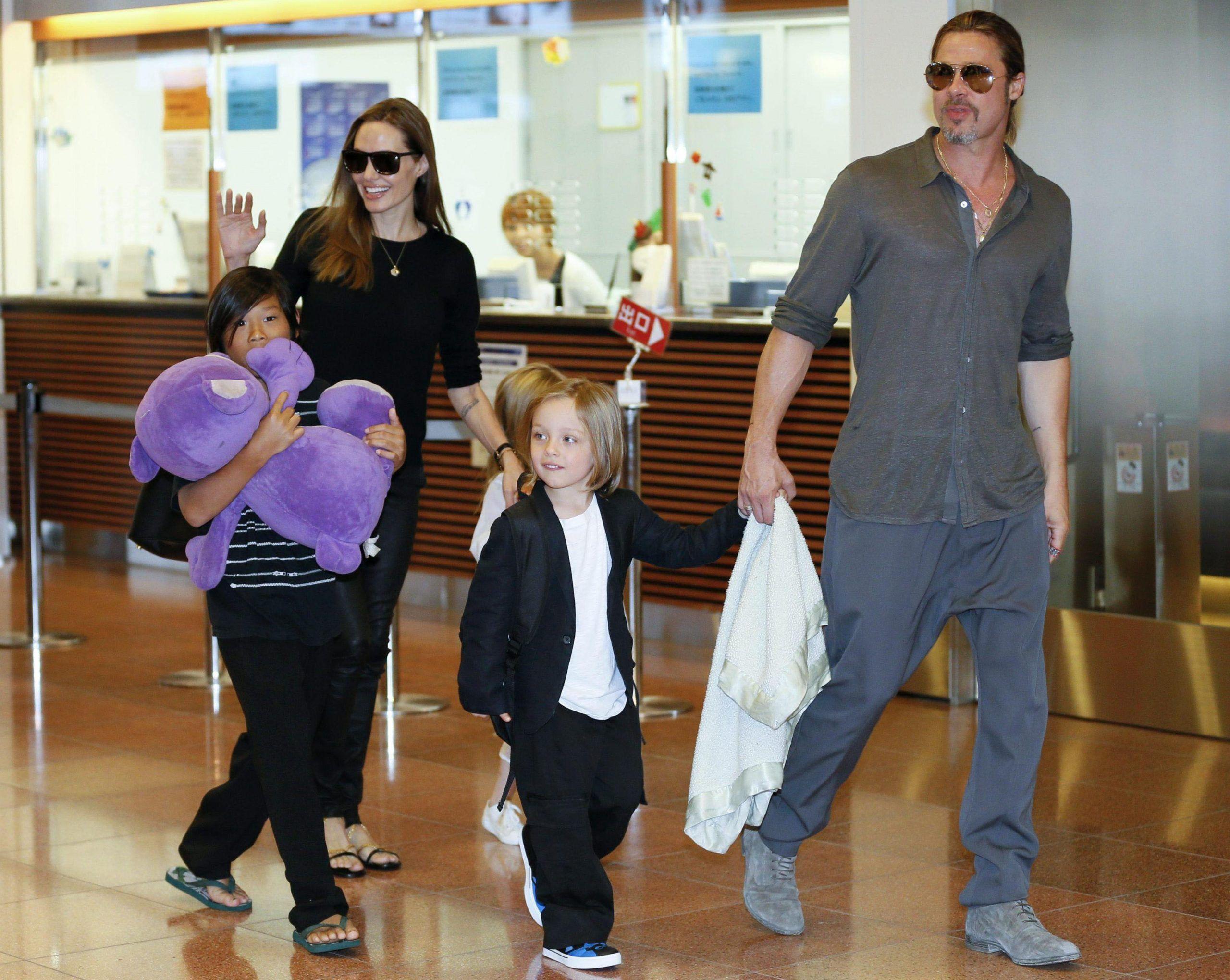 Shiloh Jolie-Pitt figlia transgender Brad Angelina