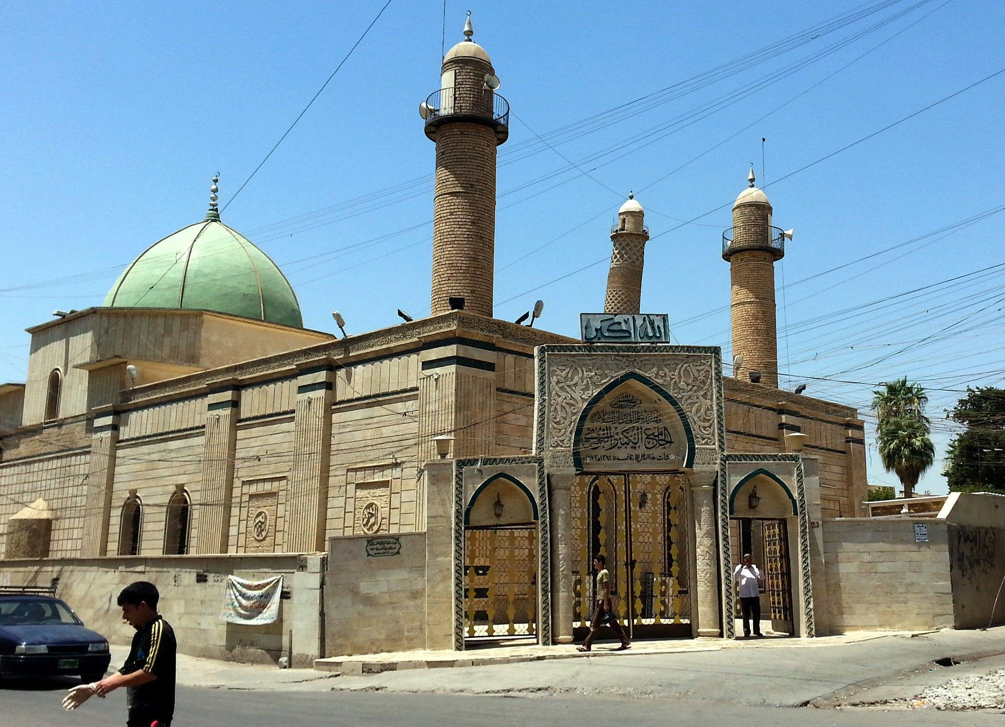 Landmark Great Mosque of al Nuri blown up in Mosul