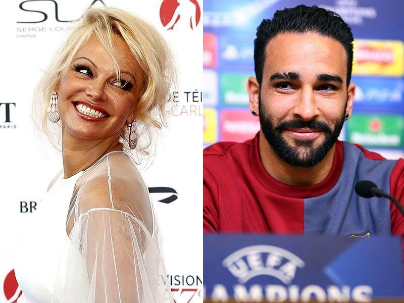 Pamela Anderson Adil Rami fidanzati