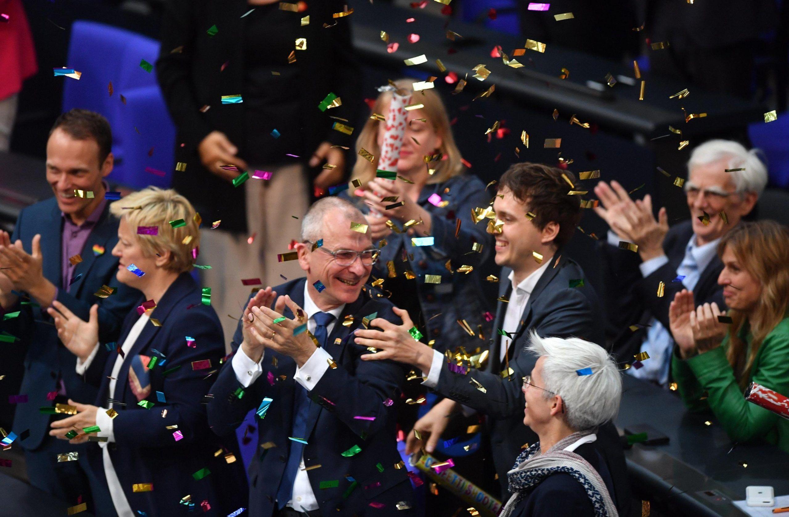 German Parliament votes on legalizing same sex marriages