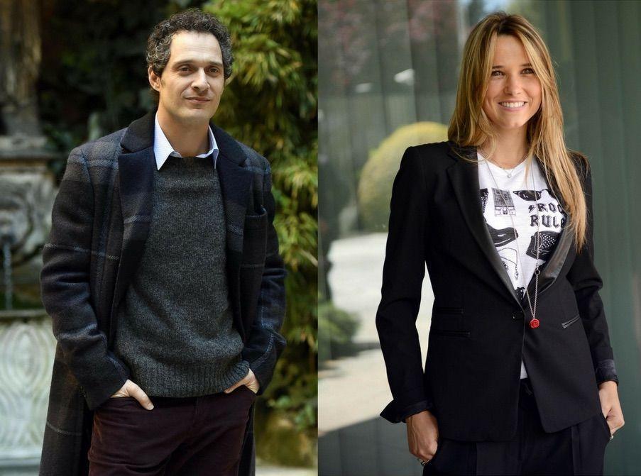 Claudio Santamaria e Francesca Barra fidanzati