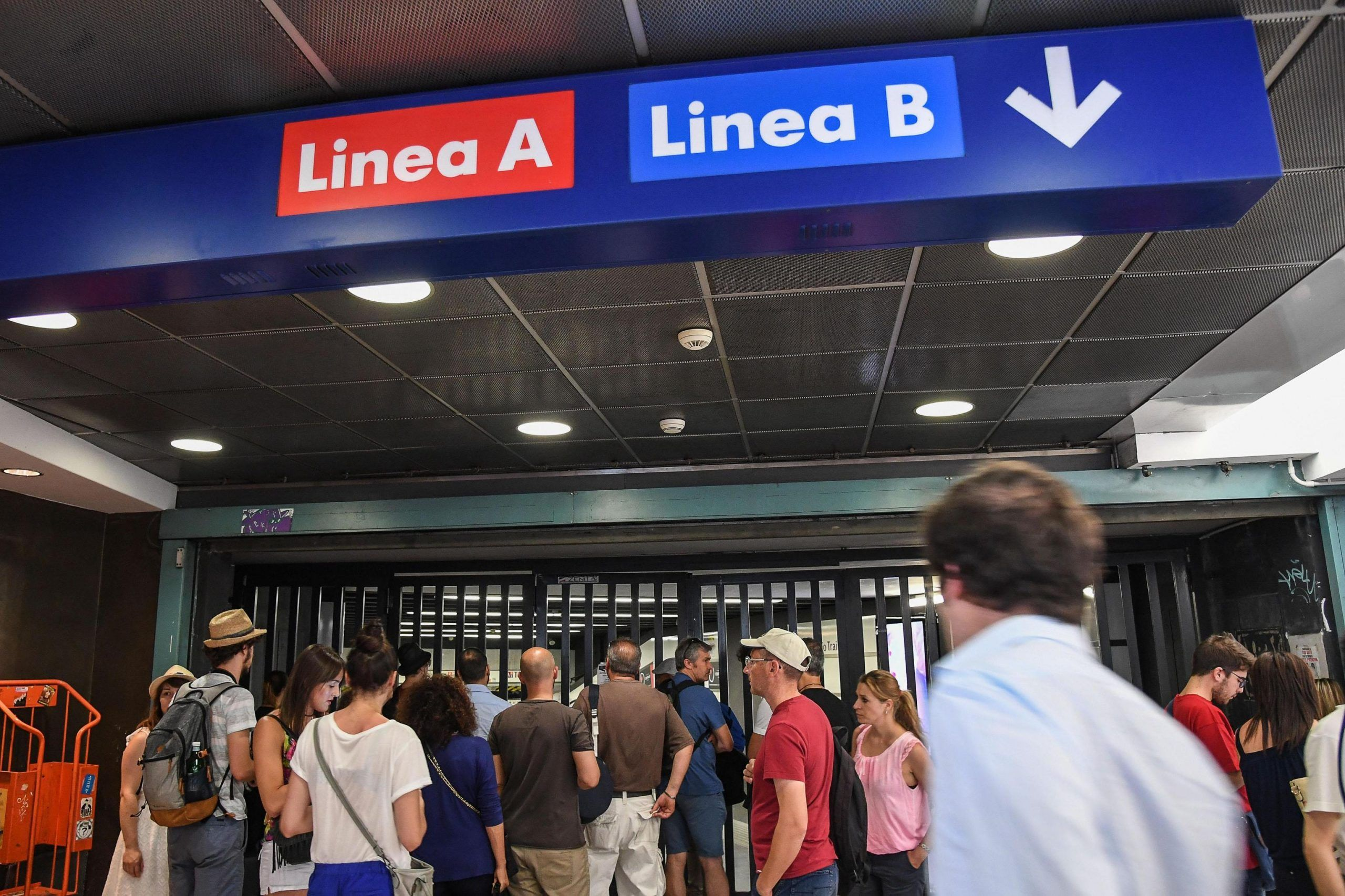Metro A Roma chiusura agosto