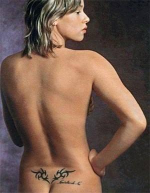 tatuaggi federica pellegrini fondoschiena