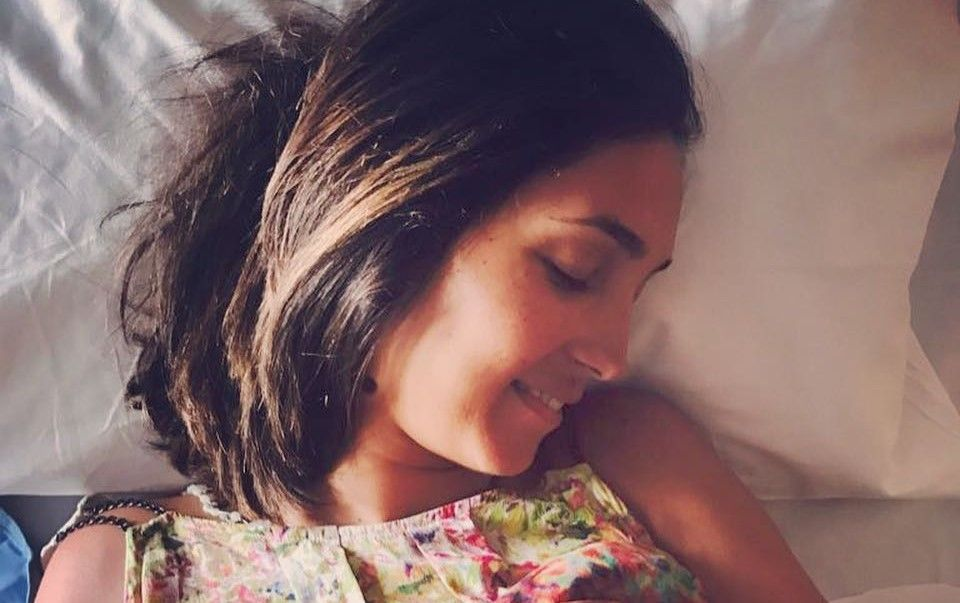 Caterina Balivo di nuovo mamma è nata Cora, l'annuncio su Instagram