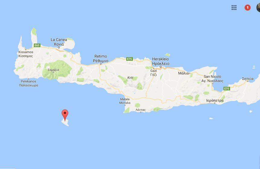 Terremoto a Creta