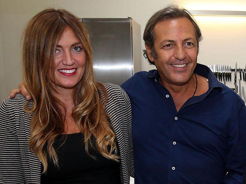 Chiara Maci incinta Filippo La Mantia