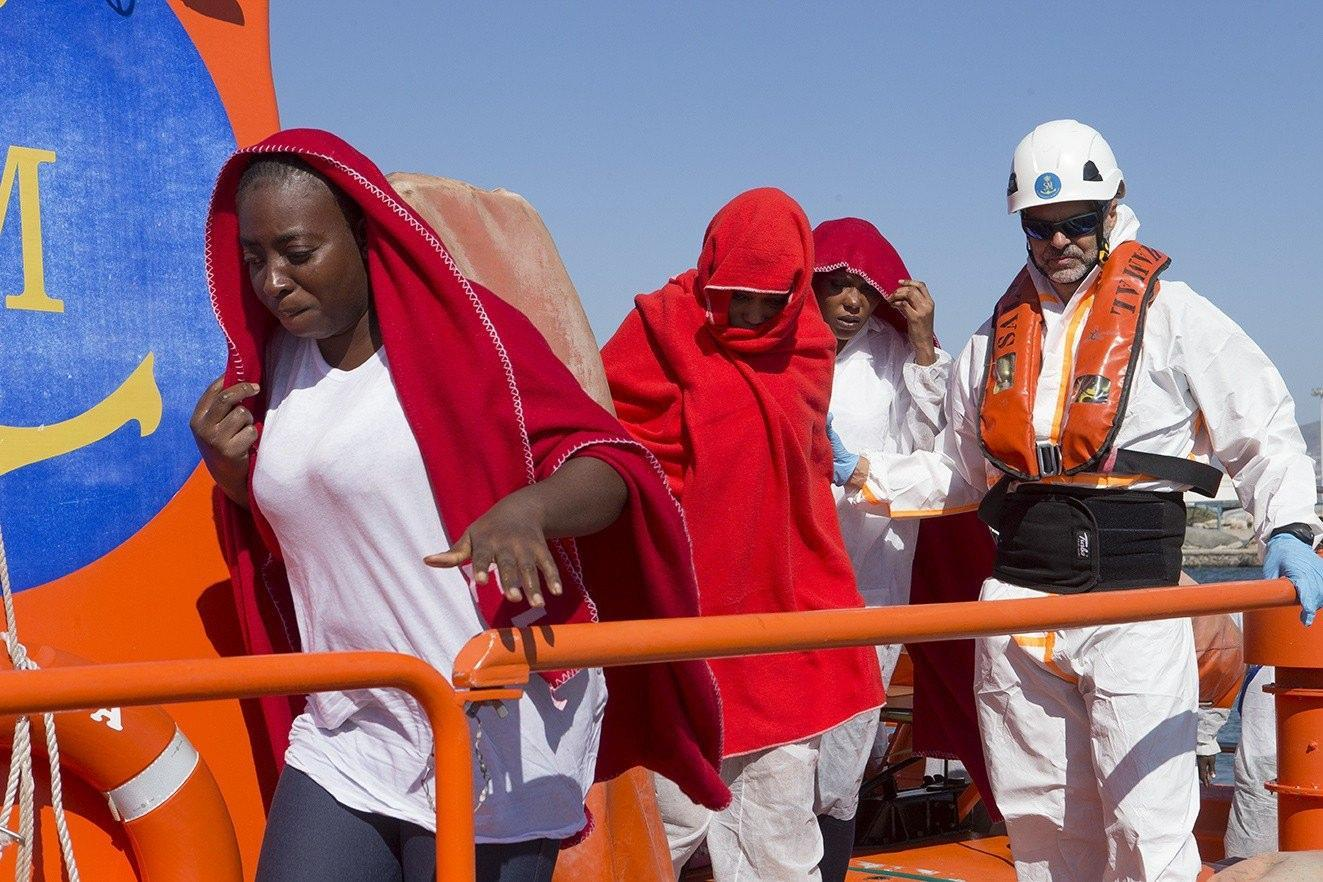 36 Sub Saharan migrants rescued in the waters of Motril