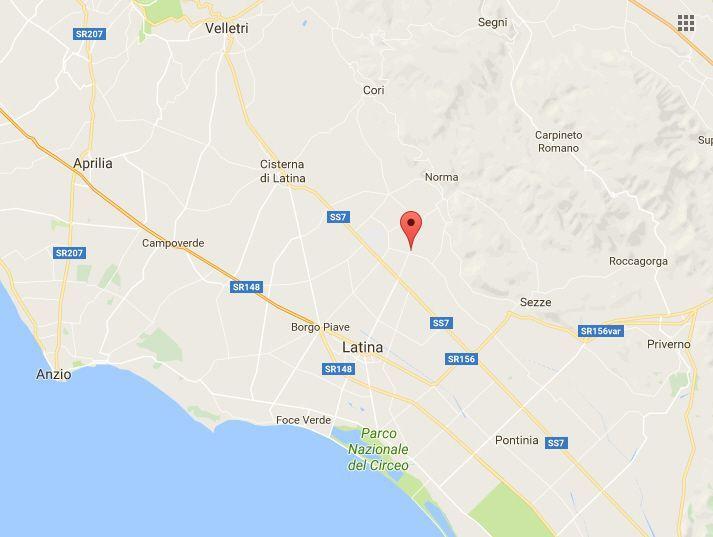Terremoto a Latina