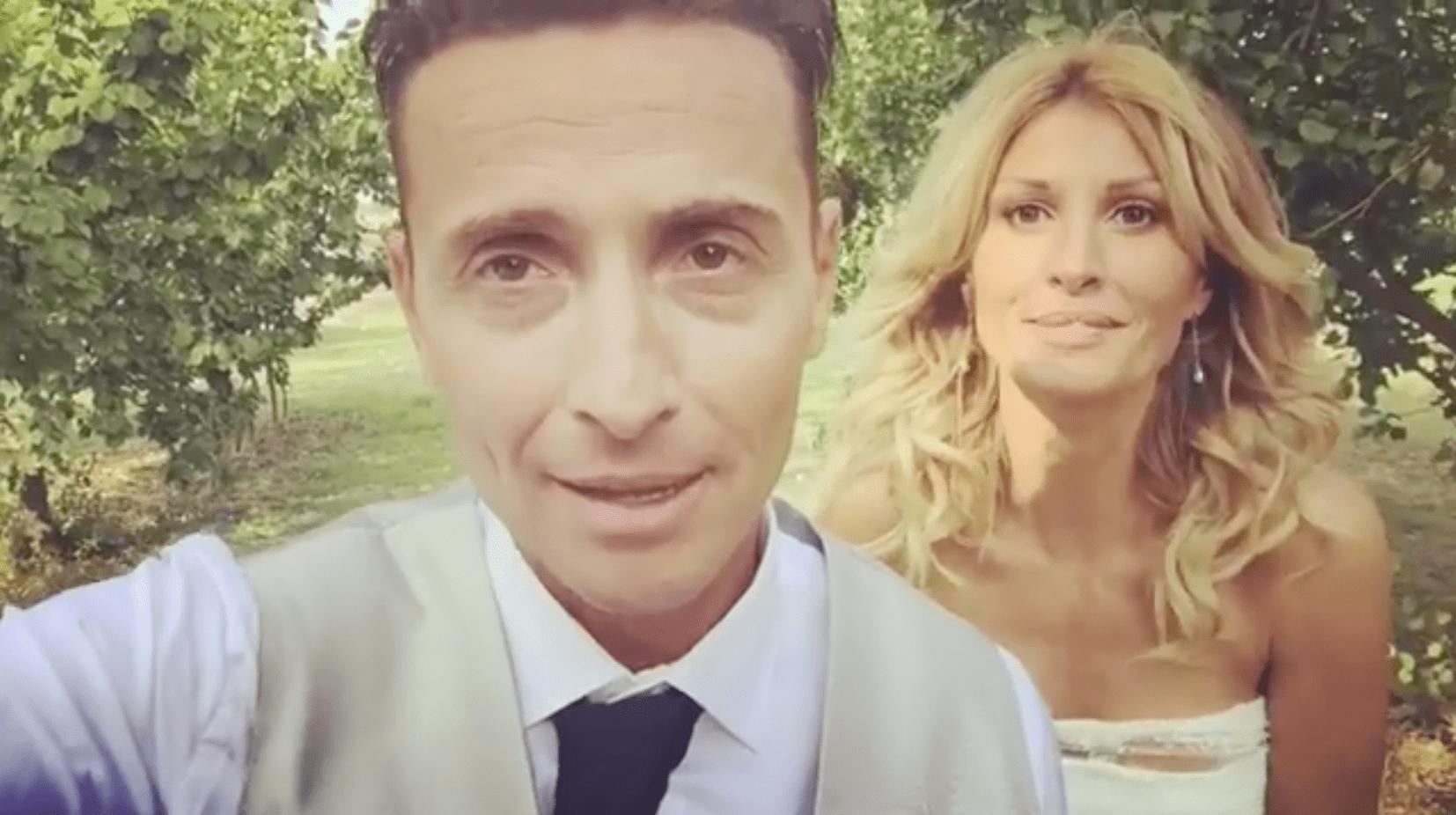 angelo pintus michela sturaro si sono sposati video a barbara d'urso