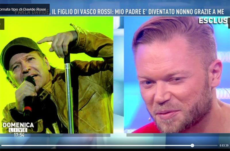 Vasco Rossi figlio Davide
