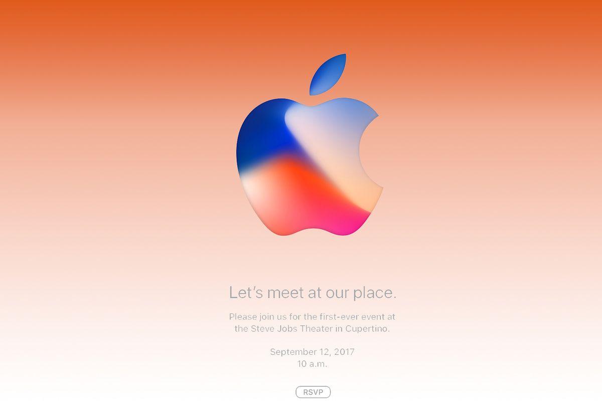 iPhone 8 tutto pronto 12 settembre