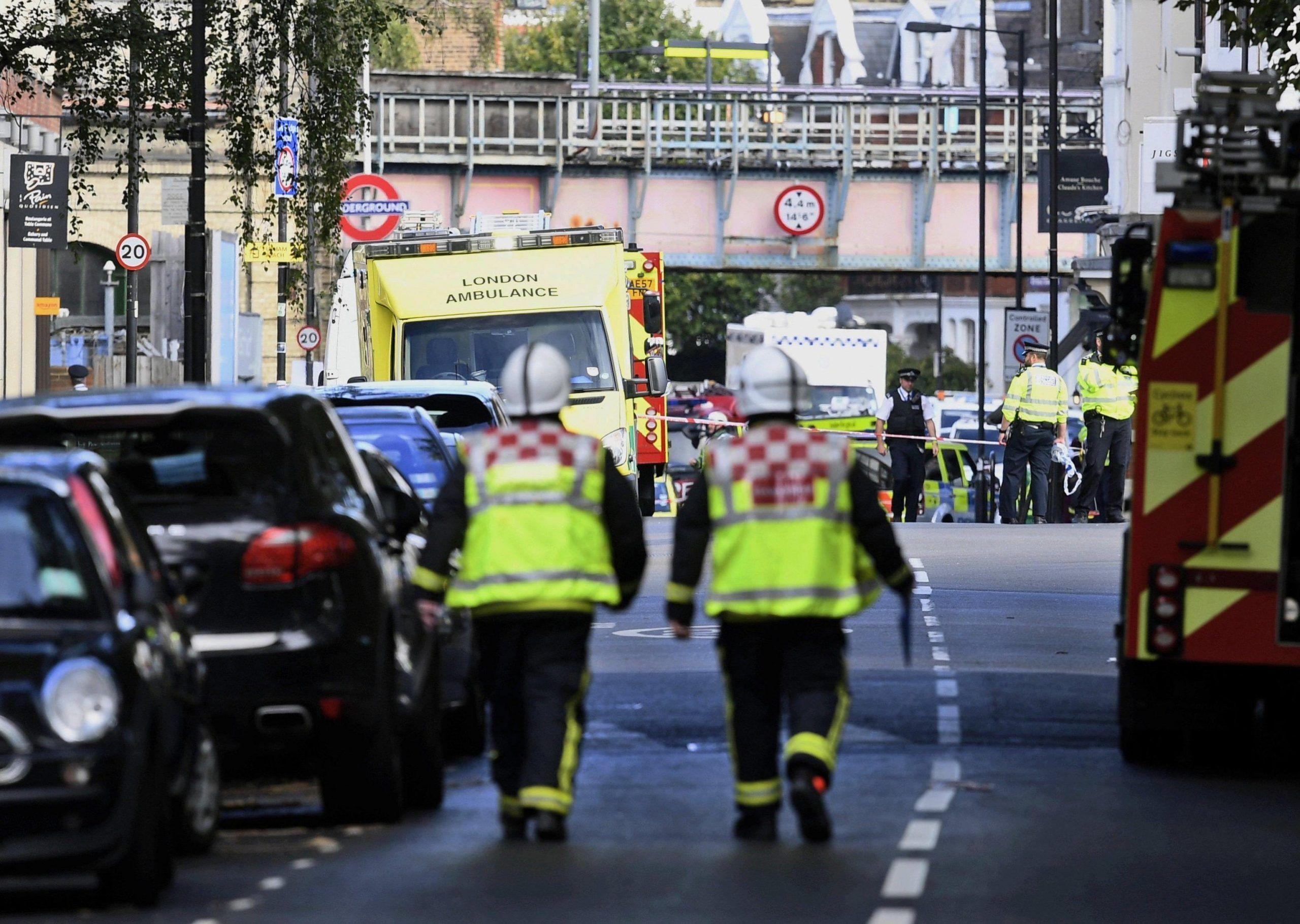 ++ Londra:forte presenza di agenti armati a Parsons Green ++