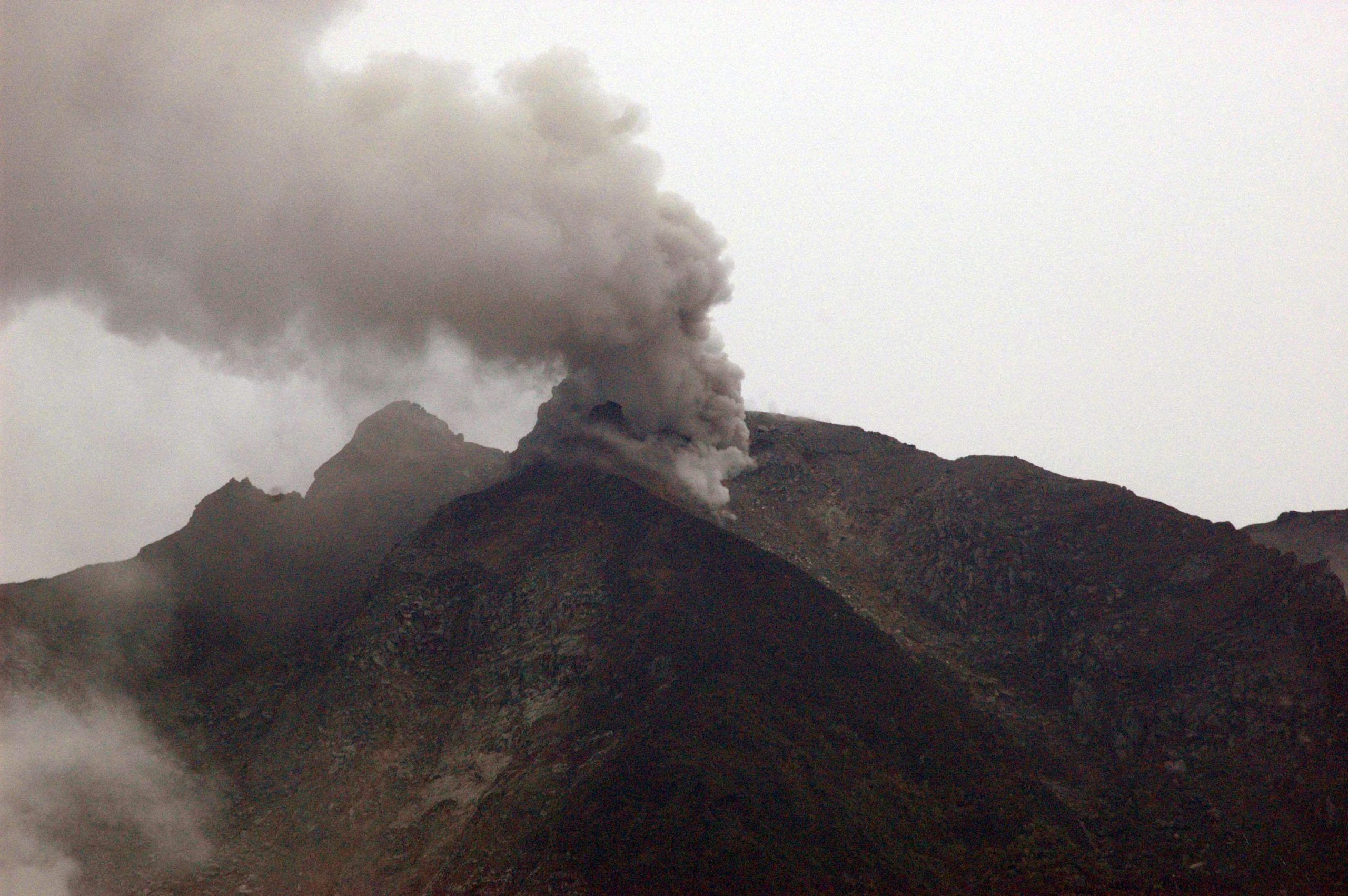 Indonesian volcano erupts for second time