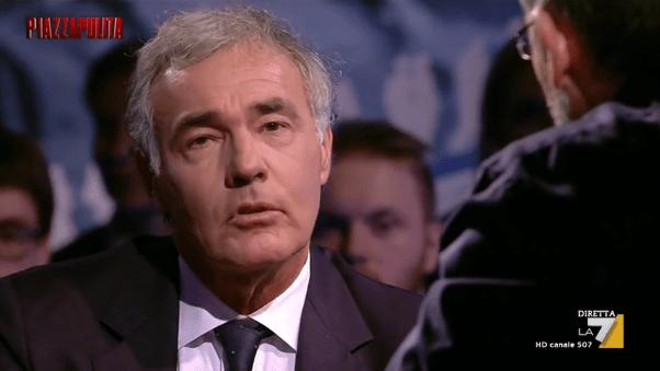 Massimo Giletti: 'In onda su La7 di domenica contro Fabio Fazio'