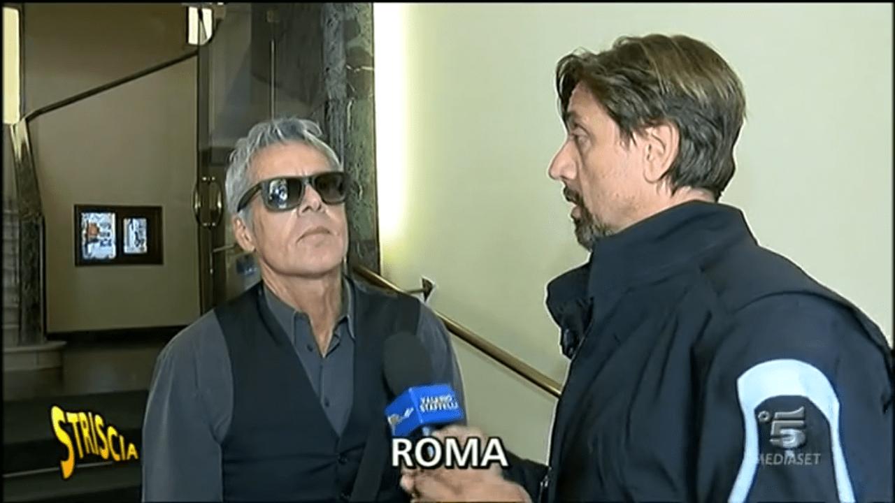 Valerio Staffelli e Claudio Baglioni a Striscia la notizia