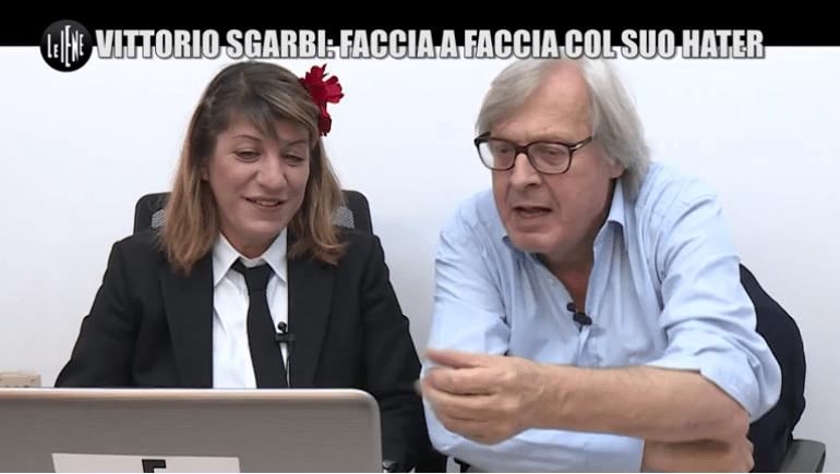 Le Iene, Vittorio Sgarbi incontra il suo hater: don Giovanni chiede scusa