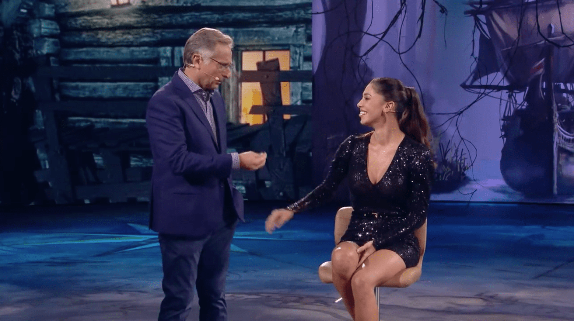 belen rodriguez gaffe su canale 5 chi ha incastrato peter pan