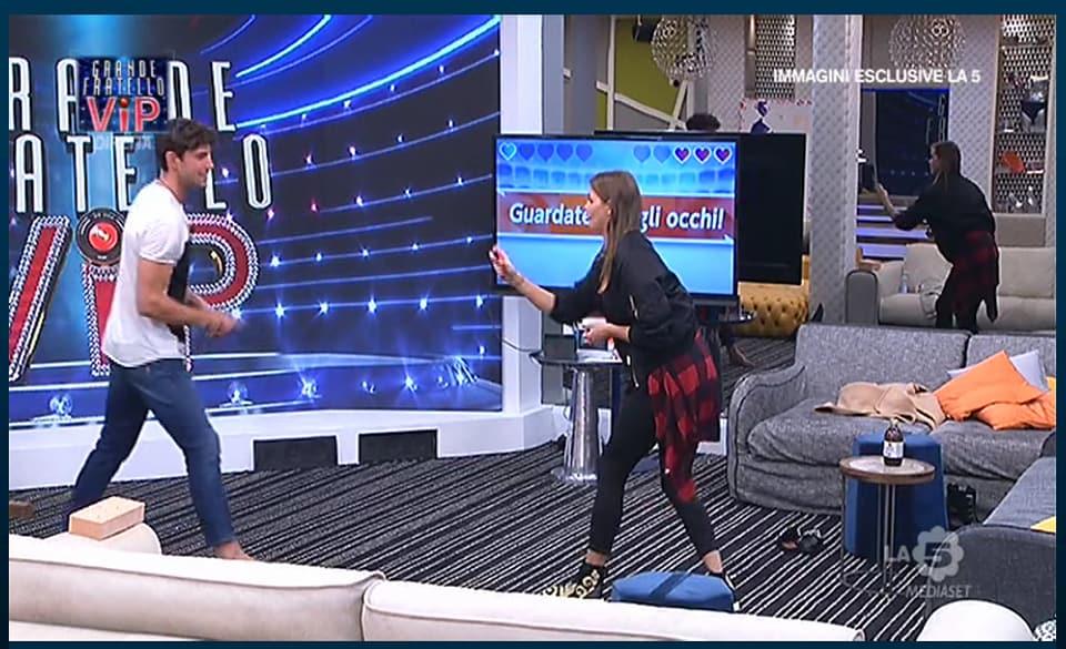 Ivana Mrazova e Ignazio Moser al GF VIP 2