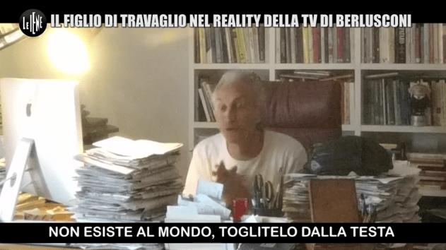 Marco Travaglio, lo scherzo de Le Iene: il figlio Alessandro al Grande Fratello VIP