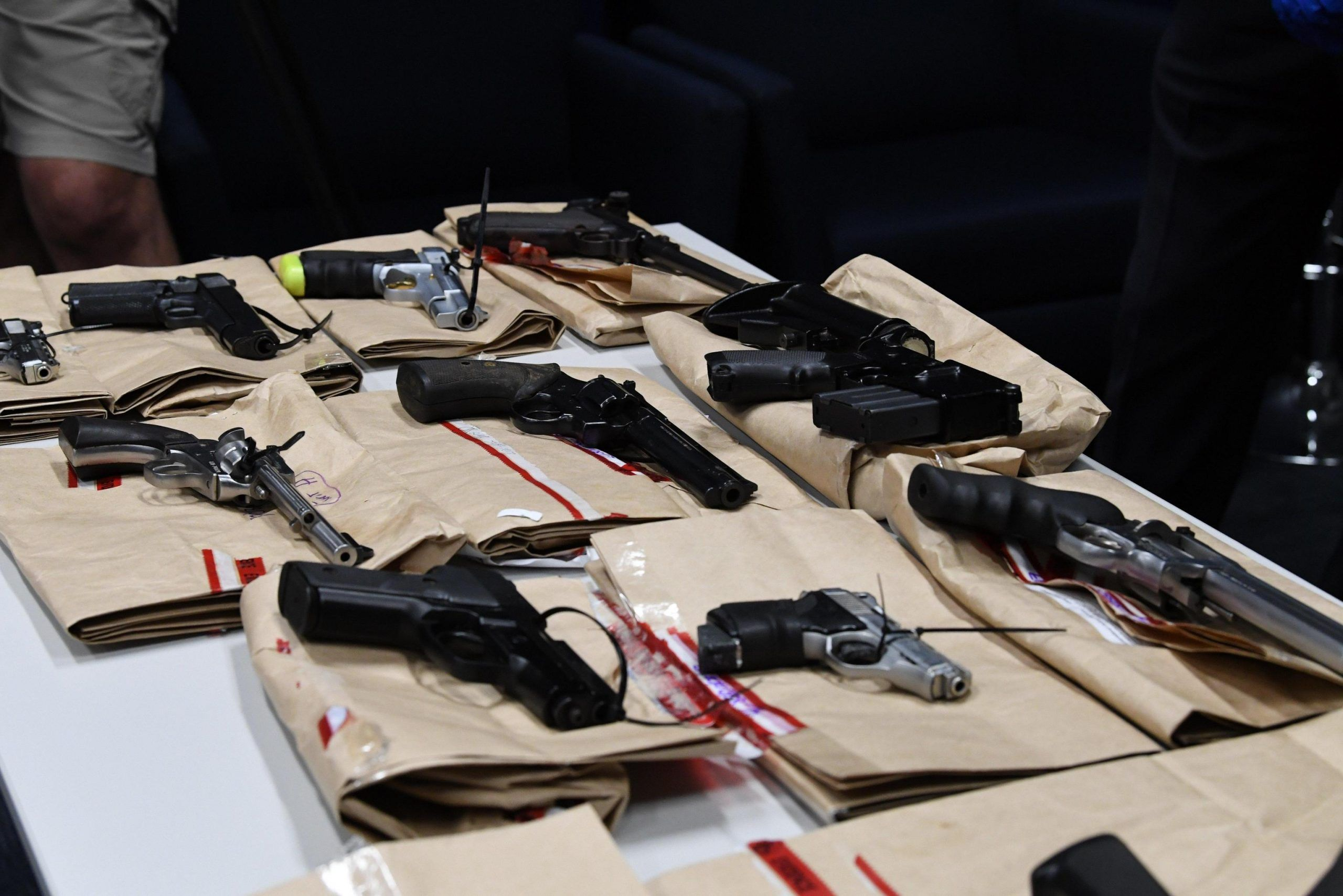 Police find large stash of weapons in Stanthorpe
