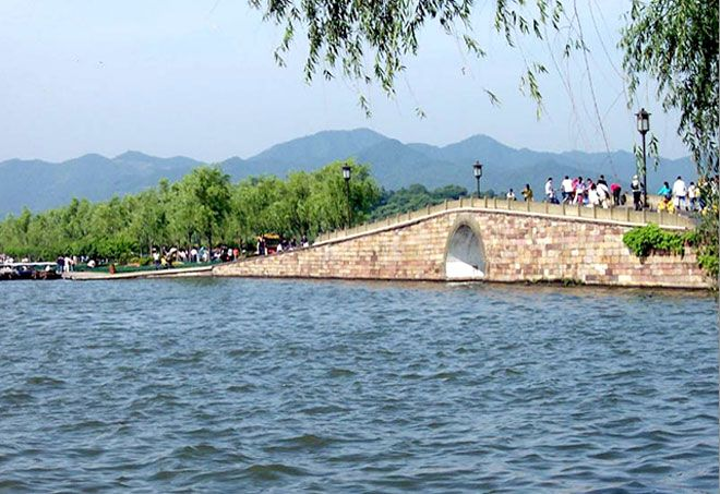 Broken Bridge Hangzhou