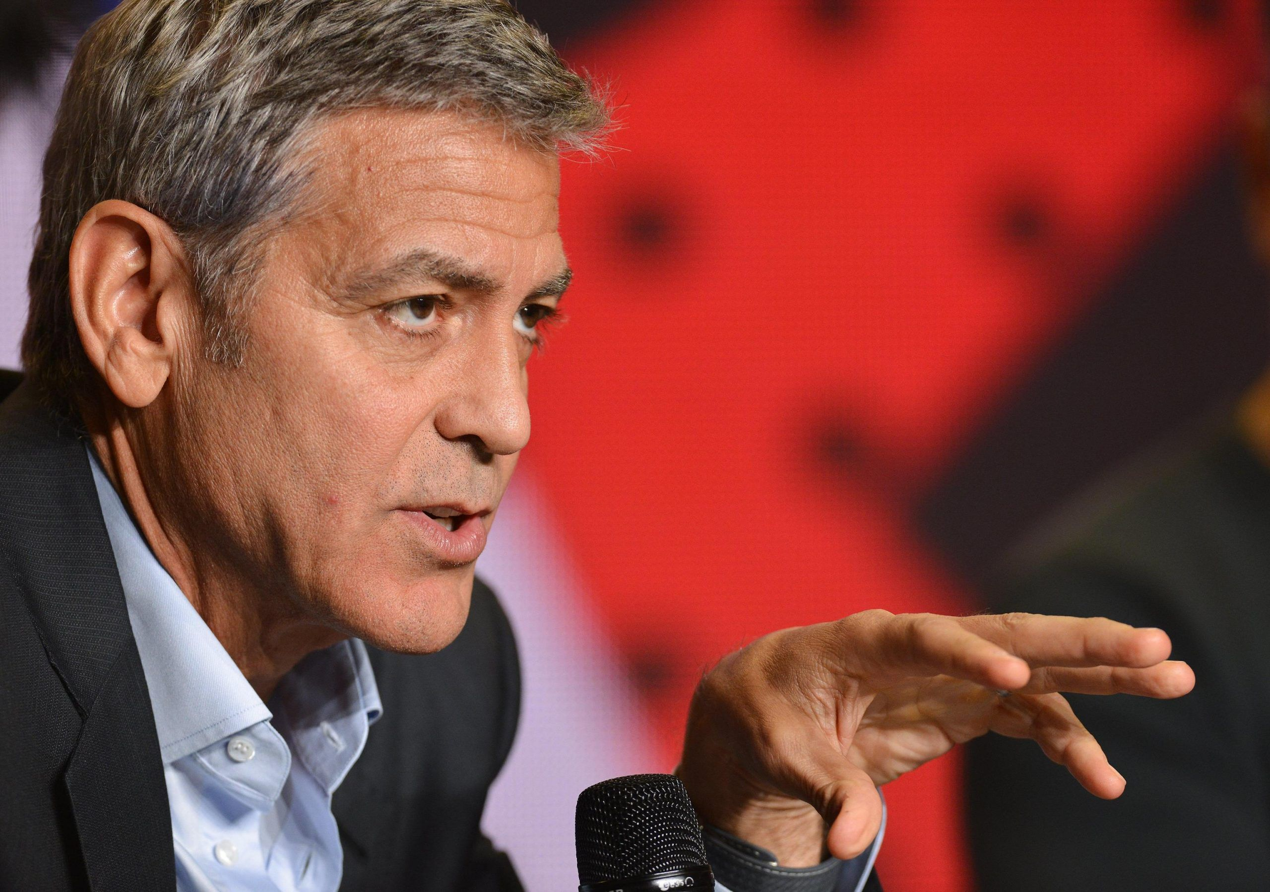George Clooney al Toronto International Film Festival (TIFF)