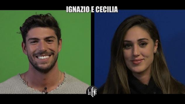 Le Iene, Ignazio Moser e Cecilia Rodriguez: intervista doppia a luci rosse