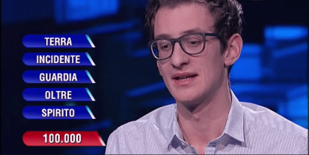 L'Eredità, il campione Leonardo Papini sapeva già le risposte? Su Twitter si scatena la bufera