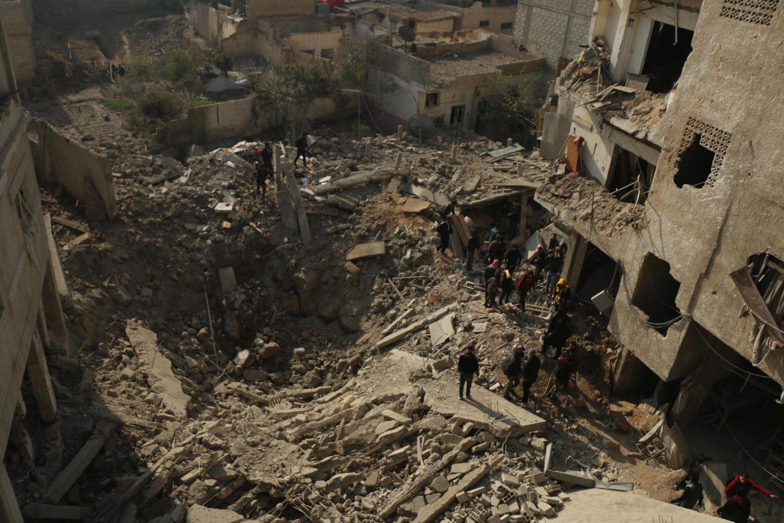 Siria armi chimiche a Ghouta est