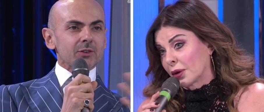 Enzo Miccio e Alba Parietti, la lite