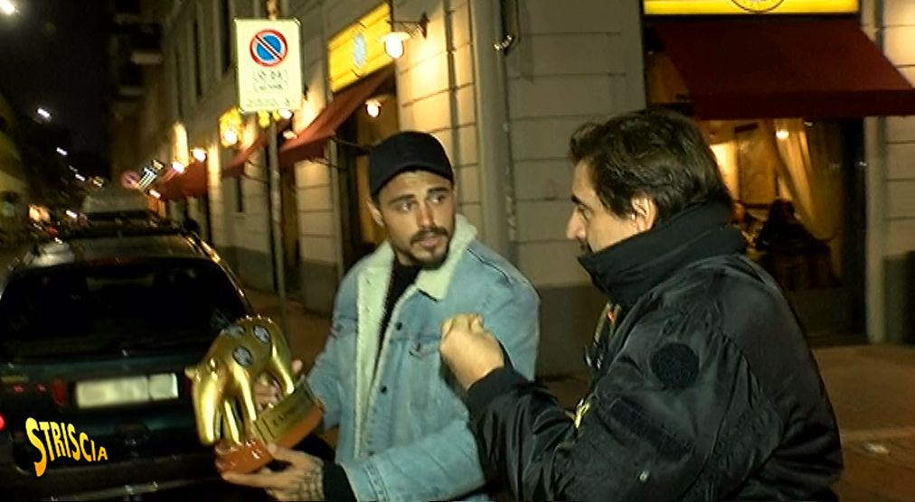 Tapiro d'oro a Francesco Monte