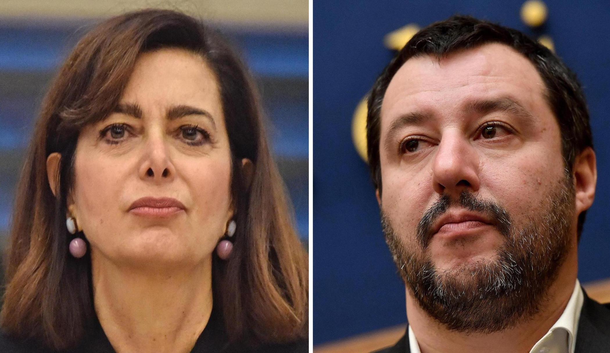 Salvini e Boldrini