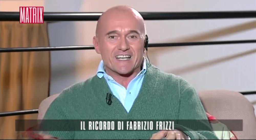 Matrix, Alfonso Signorini svela la malattia di Fabrizio Frizzi: 'Aveva dei tumori inoperabili'
